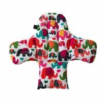 Filli – Pembe Yıldızlı Mama Sandalyesi  Minderi