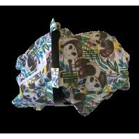 Panda Müslin Puset Örtüsü