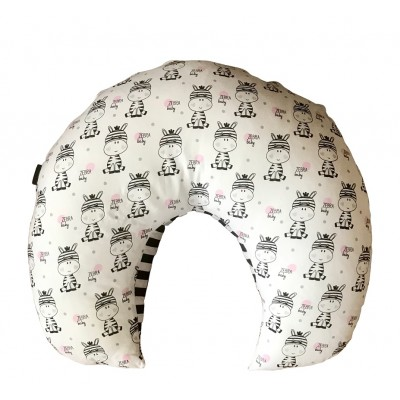 Bebek Zebra - Siyah Çizgili Emzirme Minderi