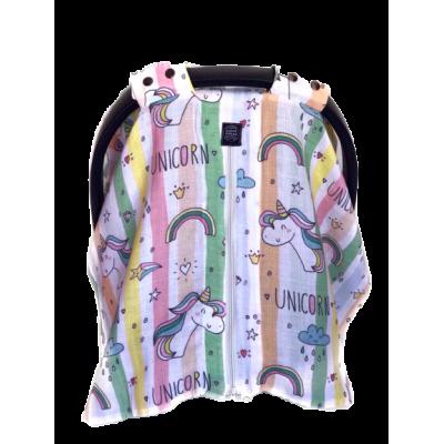 Unicorn Müslin Puset Örtüsü