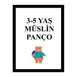 Müslin Panço 3-5 Yaş