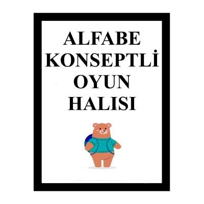 Alfabe Konseptli Oyun Halısı (1)