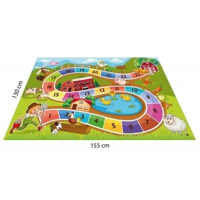 Çiftlik Konseptli Oyun Halısı - 155*130