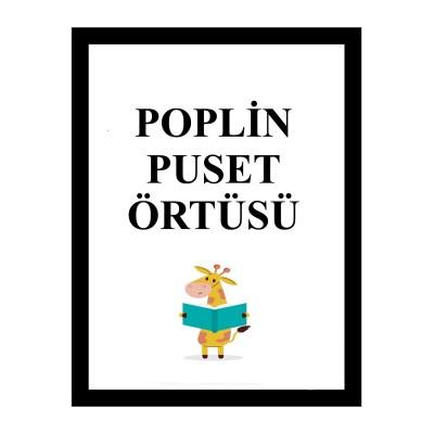Poplin Kumaş Puset Örtüsü (9)