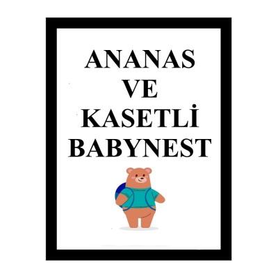Ananas ve Kasetli Babynest  (1)