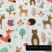 Arka Renk/Desen Seçiniz: Mutlu Orman
