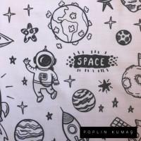 Ön Renk/Desen Seçiniz: Poplin Uzay Arka Renk/Desen Seçiniz: Poplin Uzay