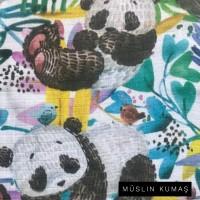 Ön Renk/Desen Seçiniz: Müslin Panda Arka Renk/Desen Seçiniz: Müslin Panda