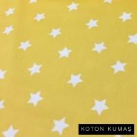 Arka Renk/Desen Seçiniz: Sarı Zemin Beyaz Yıldız