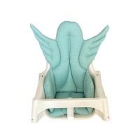 Yeşil Melek Kanatlı Mama Sandalyesi Minderi