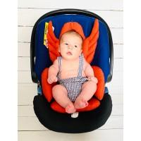 Kiremit Rengi Melek Kanatlı Mama Sandalyesi Minderi