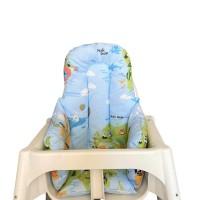 Dünya Haritalı Mama Sandalyesi  Minderi