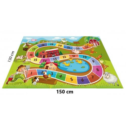 Çiftlik Konseptli Oyun Halısı - 150*130