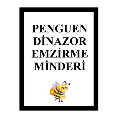 Penguen - Yeşil Dinazor Emzirme Minderi (1)