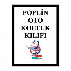 Poplin Bebek Oto Koltuğu Kılıfı