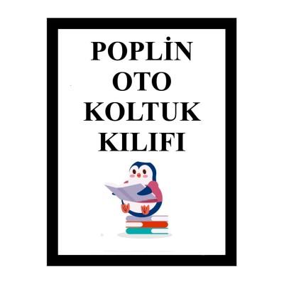 Poplin Bebek Oto Koltuğu Kılıfı (3)