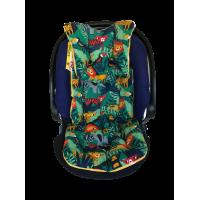 Safari - Yeşil Ormanlı Bebek Arabası Minderi