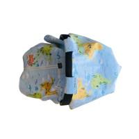 Dünya Haritası Koton Puset Örtüsü
